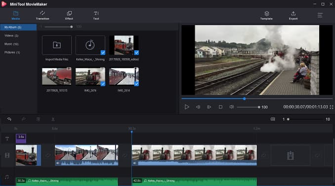 Free Video Editing Software For Windows Minitool Moviemaker
