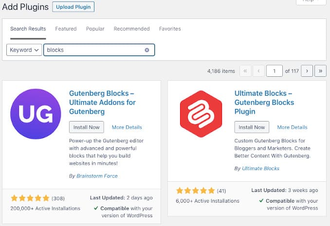 Add a WordPress plugin to add new features to Gutenberg editor