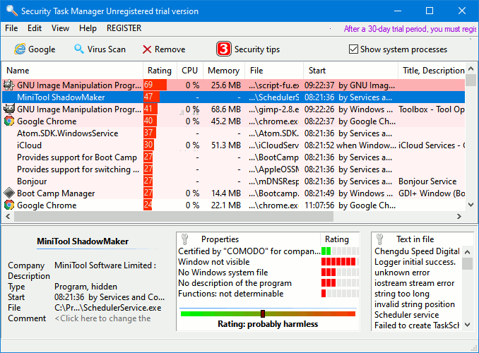 Security Task Manager alternative to Windows Task Manager