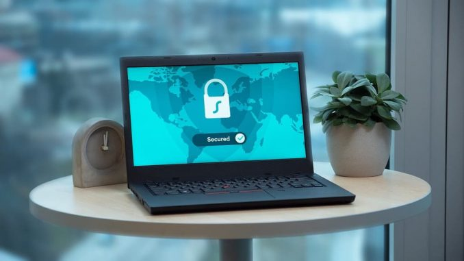 Laptop security: Make sure your internet connection is secure and private