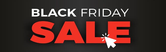 Black Friday sale logo