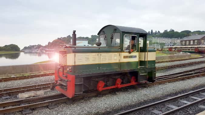 Photo of an old train