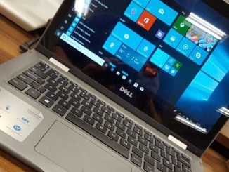 A Dell Windows laptop computer