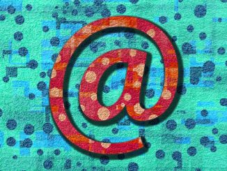 Illustration of an email @ symbol