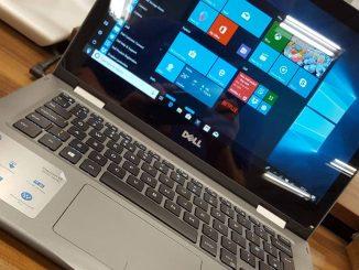 Dell laptop computer running Windows