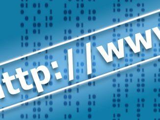 Illustration of a website URL