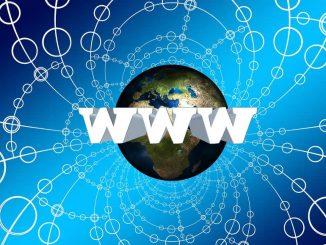 WWW - World Wide Web graphic illustration