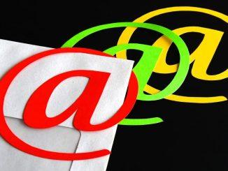 Illustration of email @ symbol