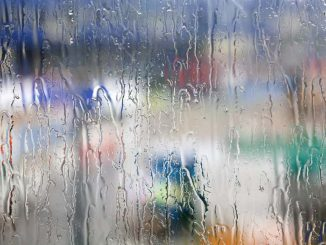 Rain on a window: Check the weather forecast